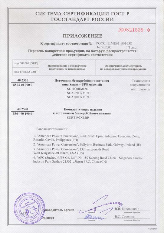 Сертификаты, Сертификат